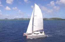 Amateur Katalu 42 : Navigating on the wind